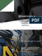 Marcegaglia Pre Painted Steel Coils Strips Sheets en Gen11