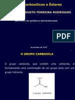 Ácidos Carboxílicos e Seus Derivados