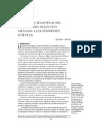 CATEGORIAS FILOSOFICAS DEL MATERIALISMO DIALECTICO APLICADAS  A LOS FENOMENOS ESTETICOS-ULIANOV MARIN.pdf
