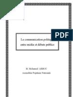 Communication Politique Entre Media Et Debats Publics
