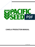 Canola Production Manual (Revised 2008)