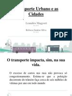 Transporte Urbano e as Cidades