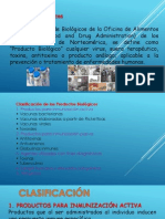 PRODUCTOS BIOLOGICOS