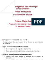Clase Project Management - 1_¦°C 2008 Resumido