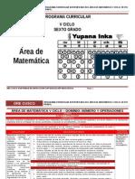 Área Matemática v Ciclo_6º Rutas