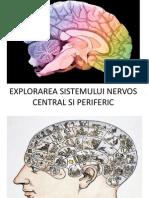 Explorarea Sistem Nervos1