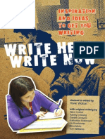 write here write now anthology
