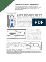 Proteccion Mediante Un Interructor Termomagnetico