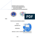 portafolio Informatica
