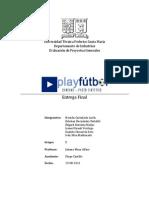 Entrega Final - PlayFutbol - Evaluacion de proyectos - UTFSM