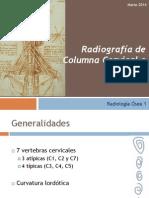 Rx Columna Cervical 2014