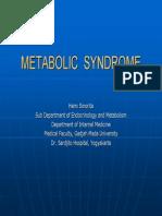 Metabolic Syndrome Dr Hemi Sinorita