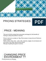 Tender Pricing Strategy | Price Elasticity Of Demand | Economics