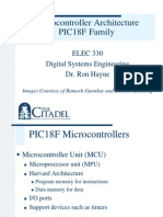 MICROCONTROLLER FAMILY of PIC 18