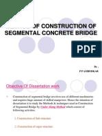 Construction of Segmental Concrete Bridge