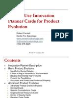 Innovation Planner for Product Development.ppt