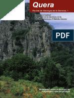 Quera, revista de geologia de la Garrotxa 1 (2009)