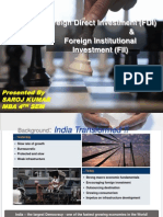 PPT ON FDI AND FII