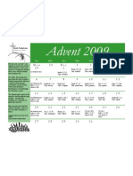 Advent Calendar 2009