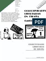 Leval G Las Colectividades Libertarias de España