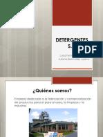 Detergentes s.a Presentacion