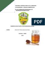 Diseño de Una Planta Pasteurizadora de Miel
