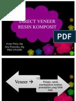 Direct Veneer