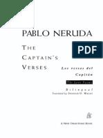 Pablo Neruda - The Captains Verses Love Poems