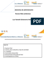 Tercera Web Conference