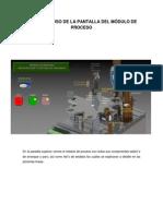 Manual de Uso de La Pantalla Del Módulo de Proceso