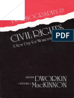 Pornography and Civil Rights - Mackinnon & Dworkin - pdf.pdf