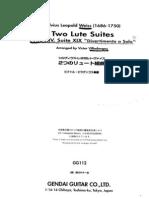 S.L.weiss Suites No 14, 19, Tr Villadangos