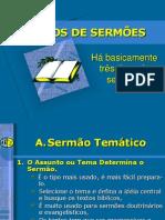 Tipos de Sermão