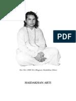 Arti of Babaji Di-Herakhan-libre