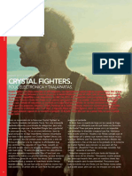Crystal fighters en AUX Magazine