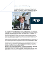 About Dr. James Hansen NASA/GISS Climate Scientist