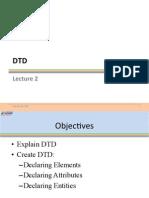 AdvXML Lecture02 DTD