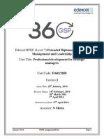 PDSM Assignment Brief