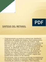 Sintesis Del Metanol