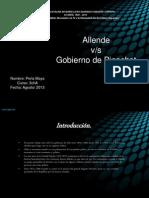 Allende y El Gobierno Militar