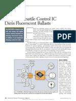 631pet1005 - Ballast Driver IC