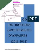 Droit Des Groupements d'Affaires (Corrigé)