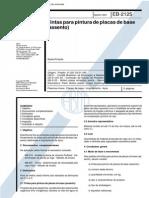 NBR 11826_91 (EB-2125) - CANC - Tintas Para Pintura de Placas de Base (Assento) - 3pag