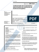 NBR 12010_90 (MB-3341) - CANC - Condicionador de Ar Doméstico - Determinação Do Coeficiente de Eficiência Energética - 4pag