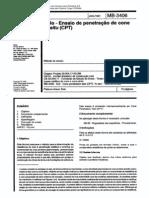 NBR 12069_91 (MB-3406) - Solo - Ensaio de Penetração de Cone in Situ (CPT) - 10pag