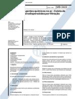 NBR 12085_91 (MB-3422) - Agentes Químicos No Ar - Coleta de Aerodispersóides Por Filtração - 5pag