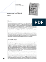 Edipo Rey y Antígona (Guía de Lectura)