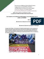 El estado, el poder y los movimientos de mujeres en Nicaragua