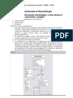 Resumen Reumatología