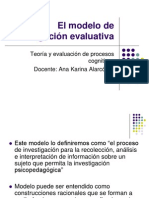 El Modelo de Investigación Evaluativa